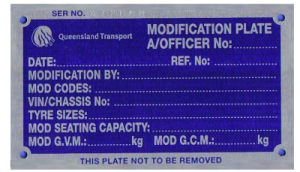 Modification Plates